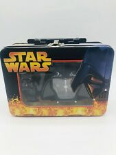 Star Wars Darth Vader Helmet Clock And Watch Gift Set In Tin New