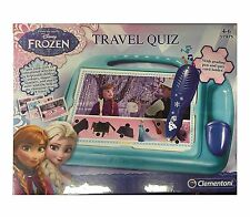 Frozen Travel Quiz with grading pen and quiz card holder by Clementoni, 61304