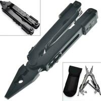 13-In1 Outdoor Survival Stainless Steel Multi Tool Portable Pocket Plier Co Q4P6
