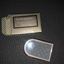 MARY KAY Winter Wonders Powder Perfect Eye Color SILVER BELLS #0985 .09 oz -NEW!
