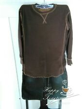Mossimo Brown CorduroyPants, Size 8M & Plugg Long Sleeve, Brown Top, Size 8.