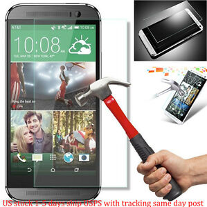 TEMPERED  GLASS SCREEN PROTECTOR For HTC One M8 USA