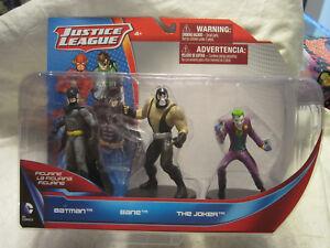 DC Comics Justice League Batman, Bane & Joker 3-Pack Figurine
