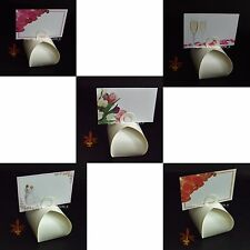 50 Gloss White Trinket Box Bomboniere Favour Box + 50 Place Cards or Box Only