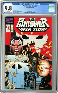 Punisher War Zone #1 CGC 9.8 1992 3804961022