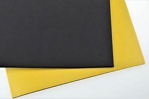 EPDM Zellkautschuk Matte 5mm Stärke einseitig selbstklebend versch. Abmessungen
