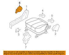 Rear Right Genuine Hyundai 88045-0W000-J4 Seat Cushion Cover