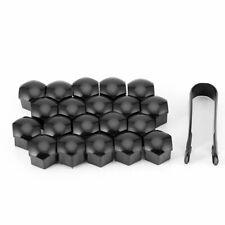 Wheel Lug Nut Bolt Center Cover Gray Caps & Tool for VW Audi Skoda 20+1 pcs 17mm