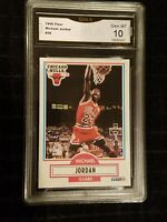 * GEM MINT 10 * 1990 - 1991 Fleer Michael Jordan #26  Chicago Bulls HOF psa ?