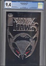 Shadowhawk #1 CGC 9.4 1982 Image embossed Silver Cover Comic:   New Frame