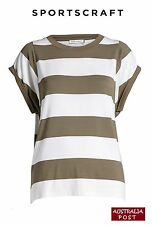 Sportscraft Ladies Terry Oversized Tee (new) Size M -