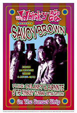 British Blues: Savoy Brown at The Whisky A Go Go Concert Poster 1969