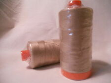 Aurifil Cotton Mako 50wt Quilting Thread-2340 Light Brown-1422 yard spool