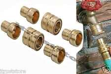 Quick Disconnect Set for Garden Water Hose Coupler Snap Fittings Connector