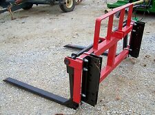 New Tri Loader Universal Mount Front Pallet Fork-Free 1000 Mile Delivery From Ky