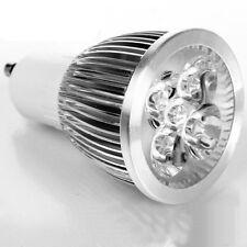 10 X GU10 FARETTO LAMPADA LUCE CALDA POWER LED 5W 5 W WATT CASA UFFICIO VETRINE