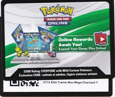 POKEMON online XY12 Evolutions Mega Charizard Y Elite Trainer Box CODE CARD