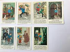 Tintin - Vignettes publicitaires casterman tintin
