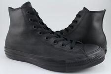 Converse Chuck Taylor All Star Hi Leather - Black Mono - High Top - 135251C -Men