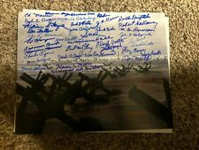 WWII Band Of Brothers Tuskegee Airmen HBO The Pacific signed autographed Photo