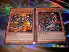 Red-Eyes Darkness Metal Dragon + Dark Armed Dragon Ultra Rare DUSA Yu-Gi-Oh!
