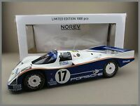 Porsche 962 C - 24h Le Mans 1987 #17  Bell/Stuck/Holbert  Norev 1:18 OVP  NEU