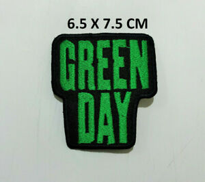 Green Day Pop Punk Pop Rock Music Band Embroidered Iron on Sew on Patch New #434