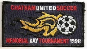 Chatham United Soccer -  Memorial Day Tournament 1998 NJ - Embroidered Patch