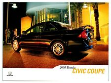 2003 Honda Civic Coupe Postcard *5C