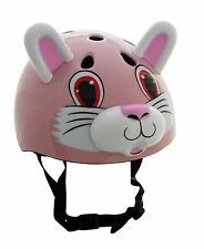 Kids Rabbit Helmet Animal Cycling Safety Scooter and Bike Helmet Ages 3 Plus