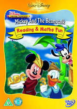 MICKEY & THE BEANSTALK READING MATHS DVD UNWANTED CHRISTMAS GIFT PRESENT