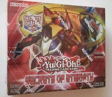 Secrets of Eternity 1st Edition Sealed Booster Box (24 Packs) Yu-Gi-Oh!