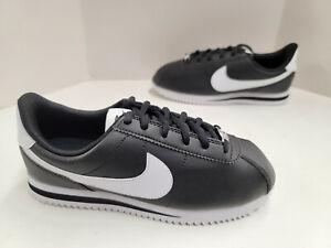 NIB Youth Nike Cortez Basic SL GS (Grade School) Black White 904764 001