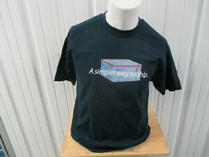 VINTAGE MURINA USPS UNITED STATES POST SERVICE SIMPLER WAY TO SHIP LARGE T-SHIRT