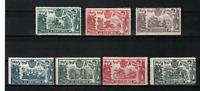 Sellos de España 1905 nº 257/263 El Quijote Alfonso XIII nuevo stamps Spain