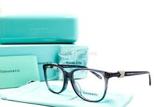 TIFFANY & CO 2111 BF 8076 Eyeglasses Glasses Frames Blue ~ Silver Crystal 54mm