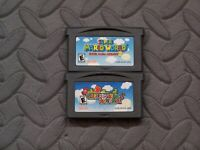 Lot Nintendo Game Boy Advance GBA Games Mario Kart Super Circuit,Super Mario Adv