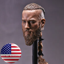 "1/6 Viking Captain Head Sculpt For For 12"" Headplay Hot Toys PHICEN Male Figure"