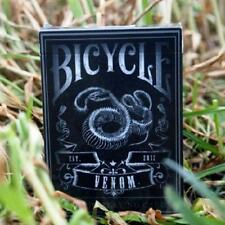 Venom Playing Cards Deck Bicycle Snake Custom Made in USA