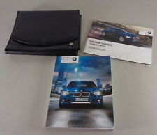 Owner's Manual + Cartera BMW 1-Series F20 116i 118i 116d 118d 120d Desde 2011
