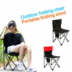 Camp Furniture Portable Folding Chairs Sports Camping Hiking Stool Easy Carry