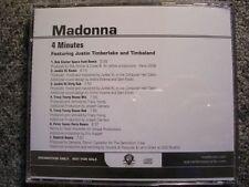 Madonna - 4 minutes US Maxi CD