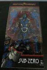 McFarlane Toys Mortal Kombat - Sub Zero Action Figure - BLUE