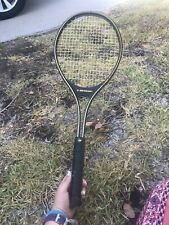 DUNLOP JOHN McENROE COMP TENNIS RACQUET Mid Size Collectible Gold With Cover