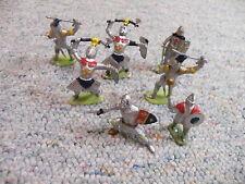 Charbens? Cherilea? Starlux? 1/32 54mm Mediaeval Knights Lot 2