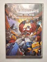 TRANSFORMERS animated MOVIE DVD OPTIMUS PRIME