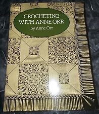 """""""Crocheting With Anne Orr"""" By Anne Orr Booklet-Dover Needlework -1988-Crochet *"""