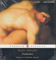 Frankenstein Mary Wollstonecraft Shelley 3CD Audio Book NEW Horror Abridged