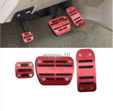 For Nissan Teana Altima 2013-2018 Red Aluminum Alloy Gas Pedal+Brake Pedal cocer