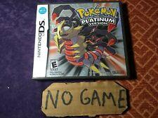 Pokemon Platinum Nintendo DS, Case